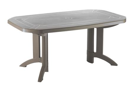 Tables De Jardin Vega 220 Amp 165 Cm Grosfillex