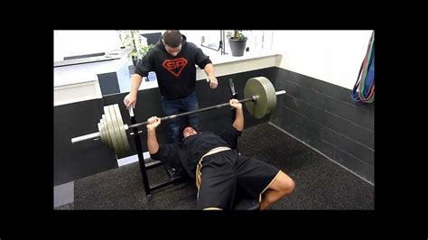 bench press 175 rudy coia bench press 1 175 kg youtube