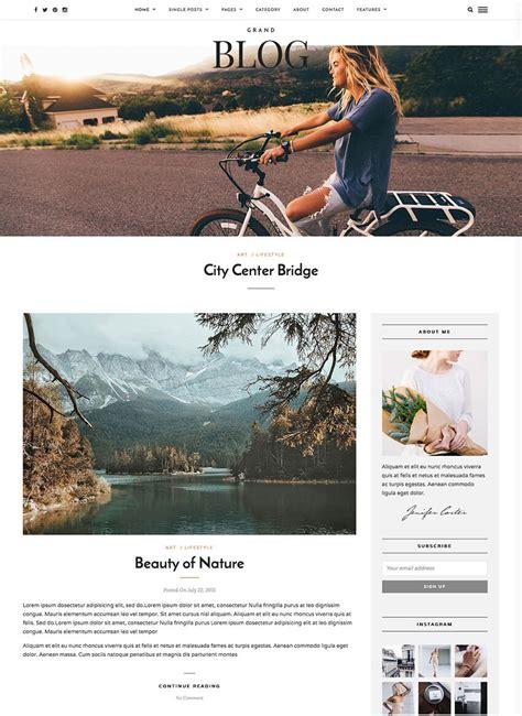blog theme smartblog 20 best minimal wordpress themes with simple elegant designs
