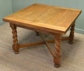 Solid Oak Kitchen Tables Quality Antique Edwardian Solid Oak Extending Kitchen Table Antiques World
