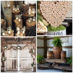 7 easy rustic wedding reception ideas uniquely yours