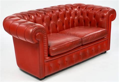 red chesterfield sofa for sale vintage english red leather chesterfield couch for sale at