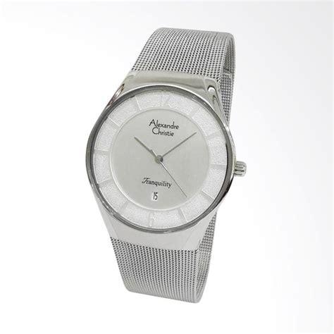 Jam Tangan Pria Cristie Ac8472 Silver jual alexandre christie jam tangan pria silver 8331