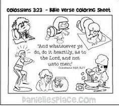 Colossians 3 Coloring Page by Colossians 3 23 Bible Verse Coloring Sheet For Sunday