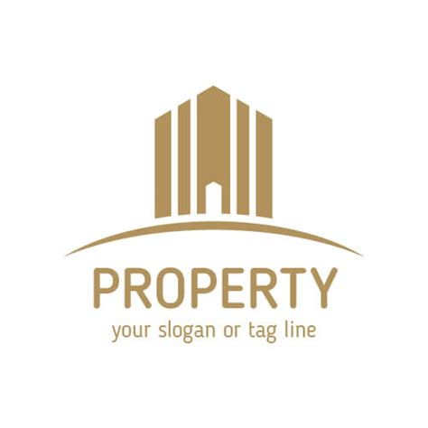 Real Estate Logo Templates by Real Estate Property Company Logo Templates Vector Free