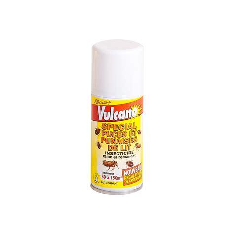 produit anti puce punaise de lit vulcano 150ml eradicateur