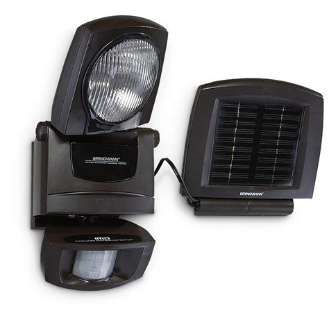 brinkmann 174 home guard 174 solar security lighting system