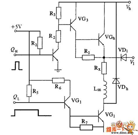 high voltage transistor circuit power transistor high and low voltage drive circuit diagram lifier circuit circuit