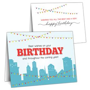 Birthday Cards For Clients