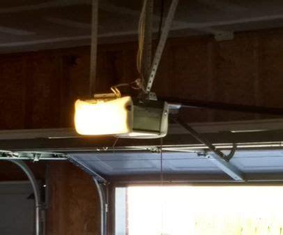 led lights interfere with garage door opener do led bulbs interfere with garage door openers