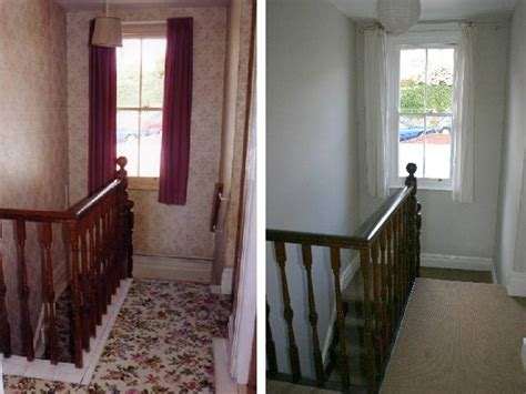 before and after decorating decorating a landing jpg 600 215 450 before and after