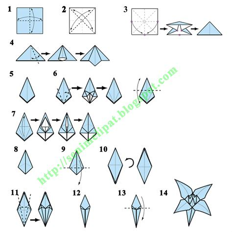 cara buat origami bunga simple 301 moved permanently