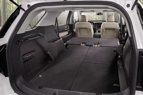 suvs with most cargo space autos post