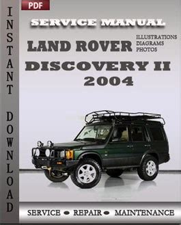 manual repair free 2004 land rover discovery seat position control land rover repair service manual pdf