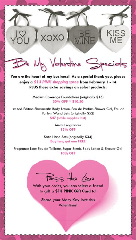 Email Marketing: Mary Kay Valentine   Stephanie's Savvy