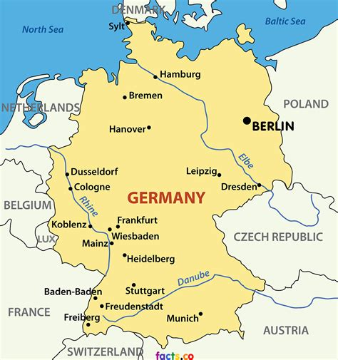 map of germany showing cities germany map maps