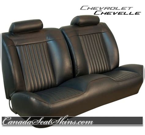 no of seats in kiit 1971 chevelle upholstery and seat foam kit