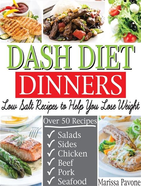 Dash Diet Detox by Dash Diet Dinners Low Salt Recipes To Help You Lose