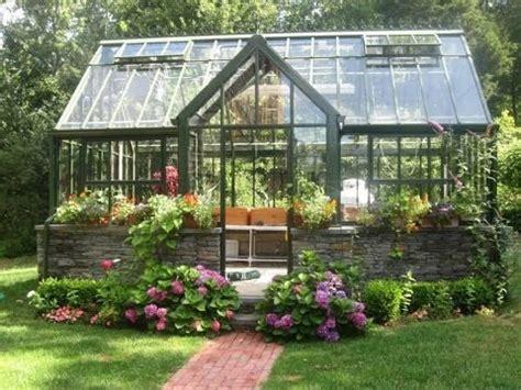 wonderful backyard greenhouse
