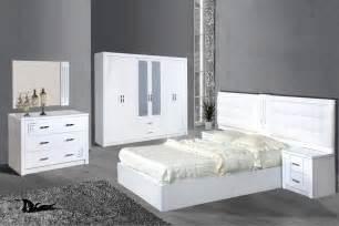 chambre 224 coucher compl 232 te laqu 233 blanc et strass comforium