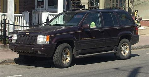 How Much Is A 1998 Jeep Grand Worth File 1996 1998 Jeep Grand Limited Jpg Wikimedia