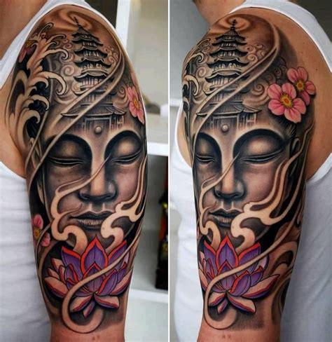 tattoo lotus buddha 48 most amazing gautama buddha tattoos for arm