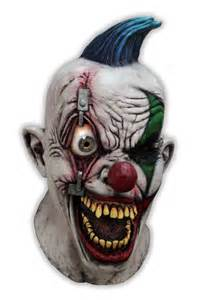 Scary Clown Mask Masque Clown Qui Fait Peur Crazy Eye