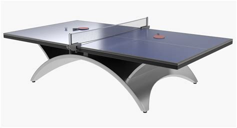 free ping pong table 3d ping pong table model