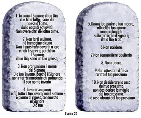 tavole 10 comandamenti catechesi sui quot dieci comandamenti quot chiesa santa