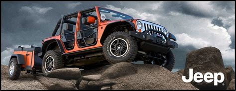 Jeep Road Trailer Mopar Arrive Officiellement En Europe Automobile
