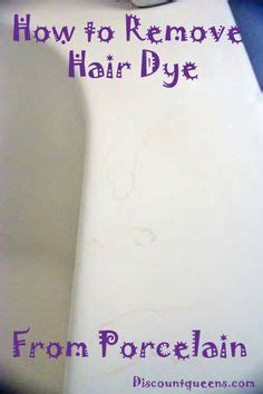How To Remove Hair From Bathtub by Removing Hair Dye Stains From A Bathtub Cleaning Tips