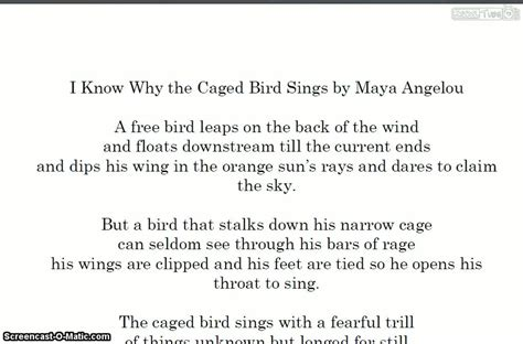 i know why the caged bird sings schooltube