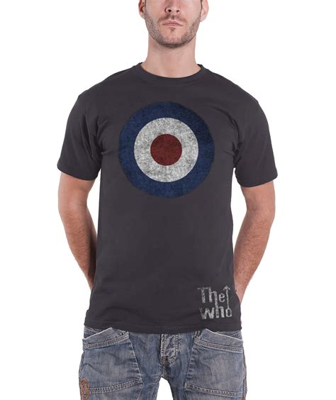 Band S S T Shirt the who t shirt mens mod target band logo tour 2016