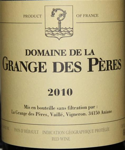 Granges Des Peres by Domaine De La Grange Des P 232 Res Cellartracker