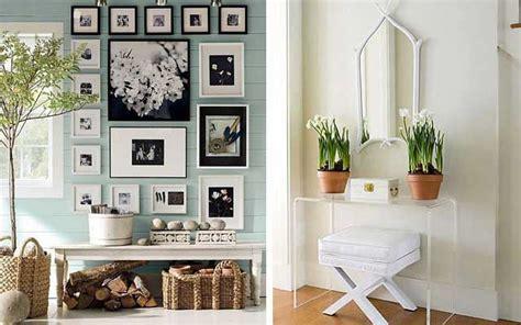 ideas decorativas para organizar tu vivienda tip del dia ideas para decorar la entrada con una consola