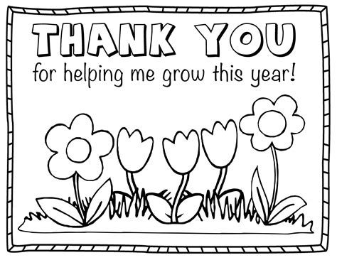 printable thank you cards you can color thank you coloring pages coloringsuite com