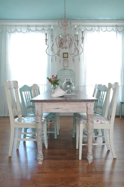 seaside style in brentwood tn suburbia shabby chic style dining room nashville by