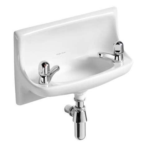 Armitage Shanks Vanity Units by Armitage Shanks 50cm Recessed Handrinse Washbasin 2th