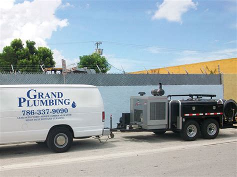Grand Plumbing by High Pressure Jetting
