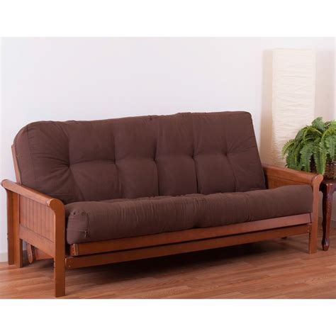 50 inch futon blazing needles full size 10 inch innerspring supreme