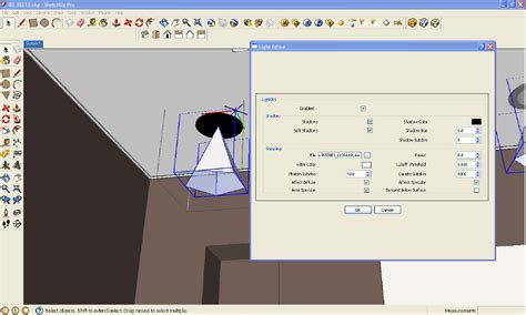 tutorial vray sketchup lighting basic ies light tutorial using v ray for sketchup