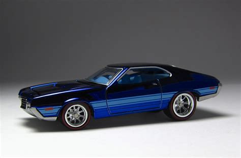 Hotwheels Ford Sports look wheels hwc special edition 72 ford gran torino sport the lamley