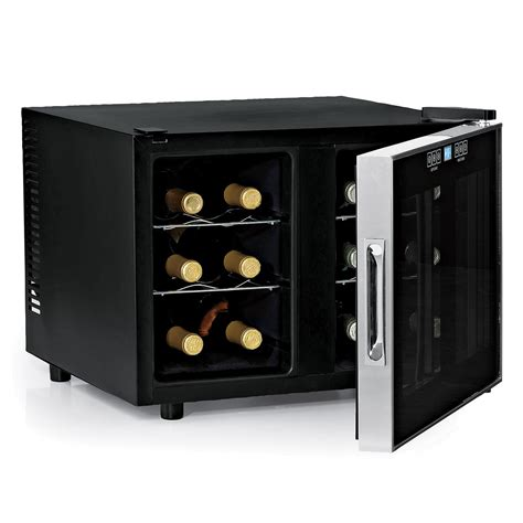 wine refrigerator wine enthusiast companies silent 12 bottle dual zone wine