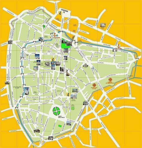padua map maps of padua
