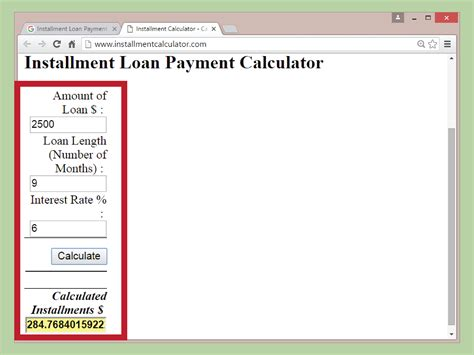how to calculate house loan payment 3 ways to calculate an installment loan payment wikihow