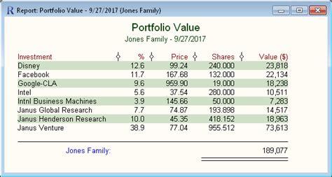portfolio management software fund manager reports