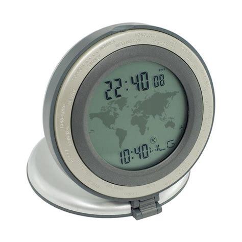 world alarm clock branded promotional desk clocks g340
