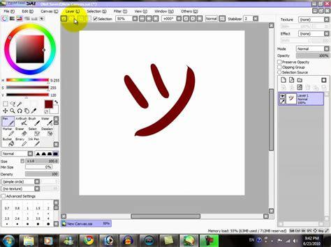 paint tool sai layout link s tutorials paint tool sai tutorial