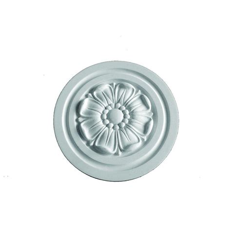 Ceiling Rosettes Home Depot by Fypon 9 15 16 In X 9 15 16 In X 13 16 In Polyurethane