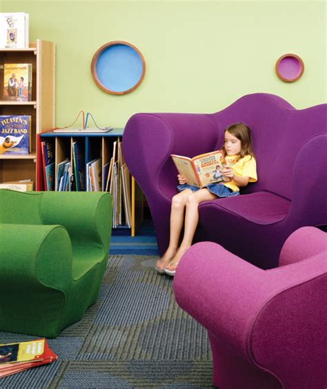 comfy library chairs how to design library space with kids in mind library by